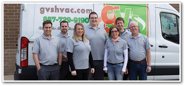 The GV's Heating and Cooling Team