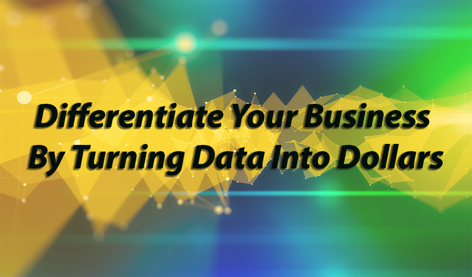 Differentiate Your Business By Turning Data Into Dollars