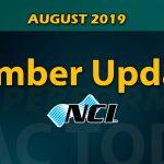 August 2019 Member Update