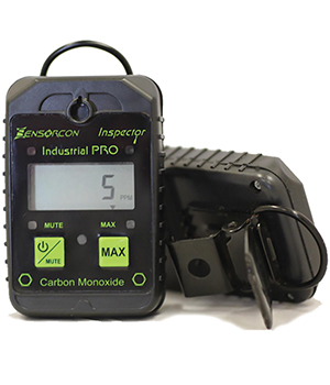 CO Monitor has high accuracy