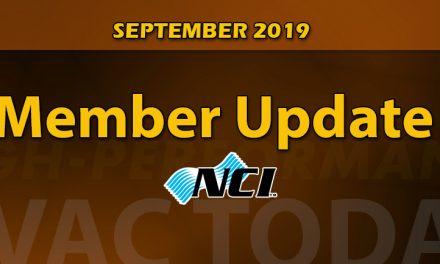 September 2019 Member Update