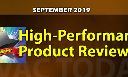 September 2019 High-Performance Product Reviews