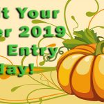 It's Time For October 2019 Photo Contest Submissions
