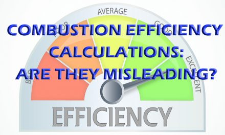 Combustion Efficiency Calculations: Are They Misleading?
