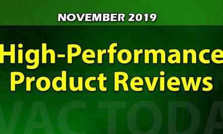 November 2019 High-Performance Product Reviews