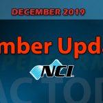 December 2019 Member Update