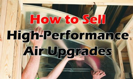 How to Sell  High-Performance Air Upgrades