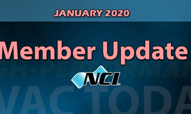 January 2019 NCI Member Update