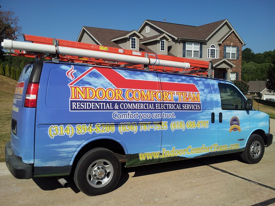 ICT Service/Installation vehicles stand out from the crowd in their St. Louis Market Area.