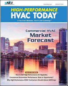 High-Performance HVAC Today - January 2020