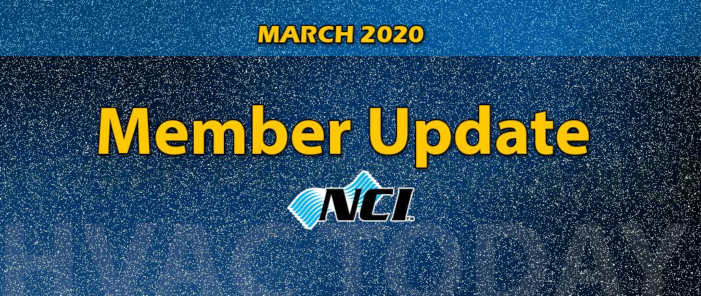 March 2020 Member Update