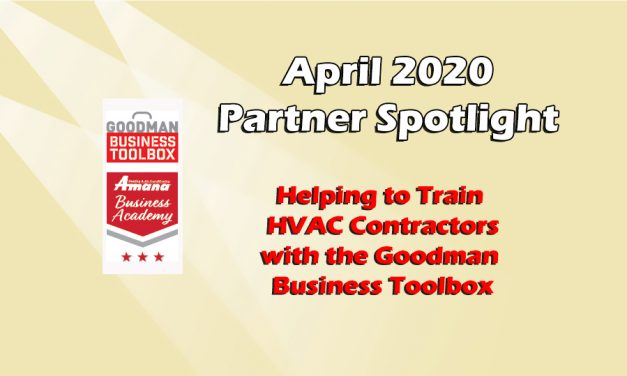 Helping to Train HVAC Contractors with the Goodman Business Toolbox