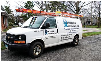 DiMarco and Associates Service Van
