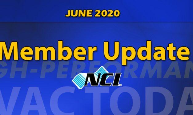 JUNE 2020 Member Update