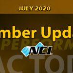 July 2020 NCI Member Update