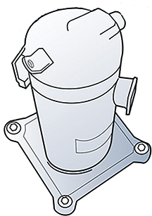 Compressor health can depend on evaporator performance