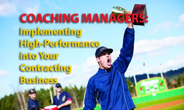 Coaching Managers: Implementing High-Performance into Your Business