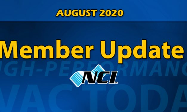 AUGUST 2020 NCI Member update