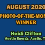 AUGUST 2020 PHOTO-OF-THE-MONTH WINNER