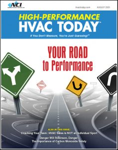 High-Performance HVAC Today - August 2020