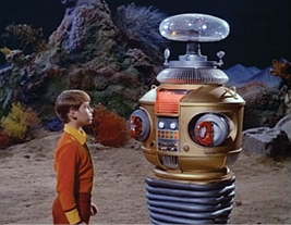 """""""Danger, Danger,"""" cries the Robot in this 1965 TV series"""
