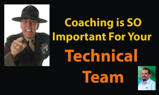 Why Coaching is SO Important for Your Technical Team
