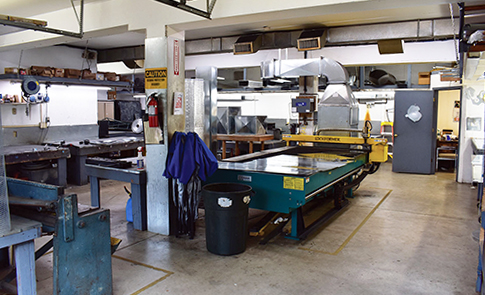 Albemarle boasts its own sheet metal shop