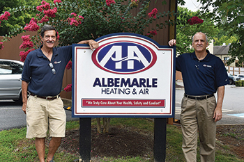 Albemarle Heating executive team