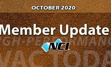 OCTOBER 2020 Member Update