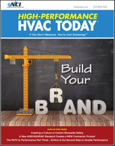 High-Performance HVAC Today - October 2020