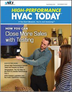 High-Performance HVAC Today - November 2020