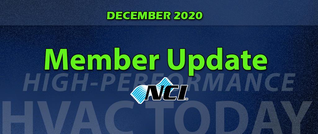 December 2020 NCI Member Update