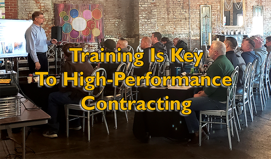 Training is Key to High-Performance HVAC Contracting