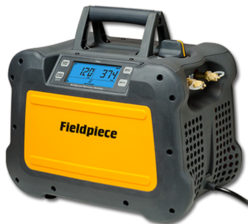 This review covers the Fieldpiece MR-45 Digital Recovery Machine