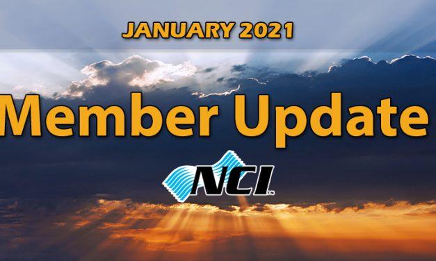 January 2021 Member Update
