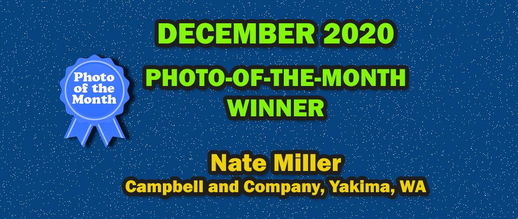 December 2020 Photo-of-the-month Winner