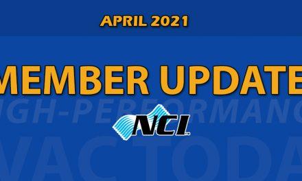 April 2021 NCI Member Update