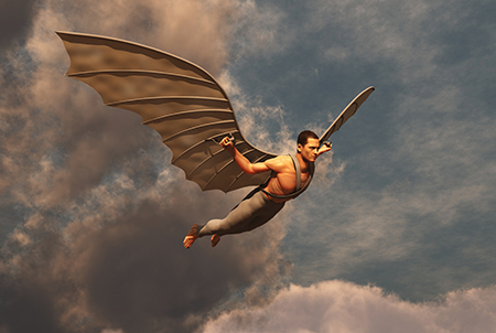 Soaring across the Internet with cloud computing is the future.