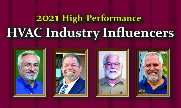 2021 High-Performance<br> HVAC Industry Influencers
