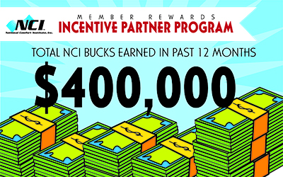 Anyone with NCI membership is eligible to participate in TIPP and earn training bucks