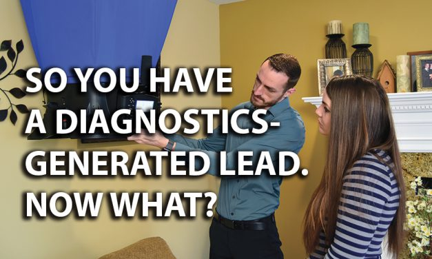 So, You Have a Diagnostics-Generated Lead. Now What?