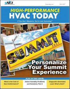 High-Performance HVAC Today - July 2021
