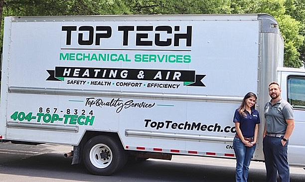 Newmans's newest Top Tech box truck