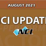 August 2021 NCI Membership Update