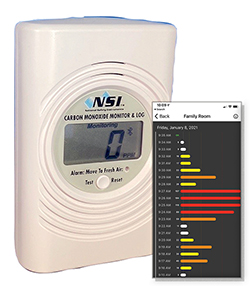 The NSI 6000 is National Comfort Institute's latest carbon monoxide monitor.