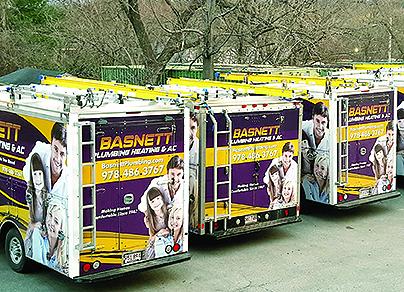 Basnett Trucks stand out