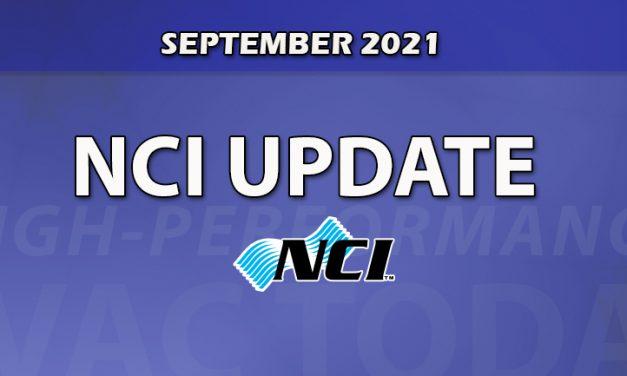 September 2021 NCI Update