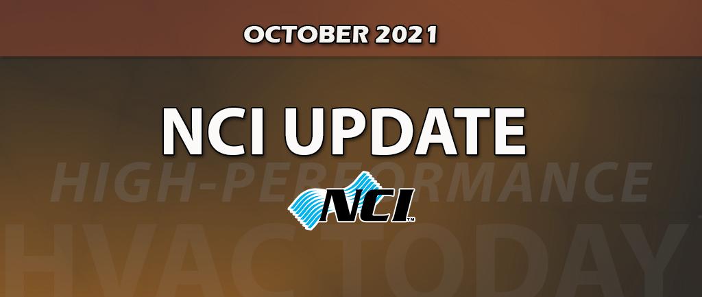 October 2021 NCI Member Update