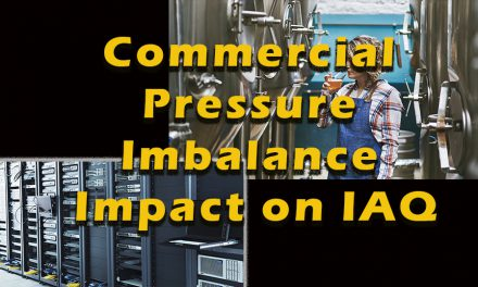 Commercial Pressure Imbalance Impact on Indoor Air Quality